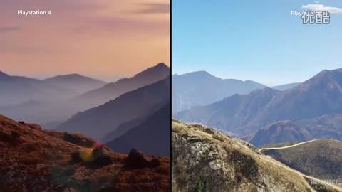 《GTA5》PS4与PS3对比视频