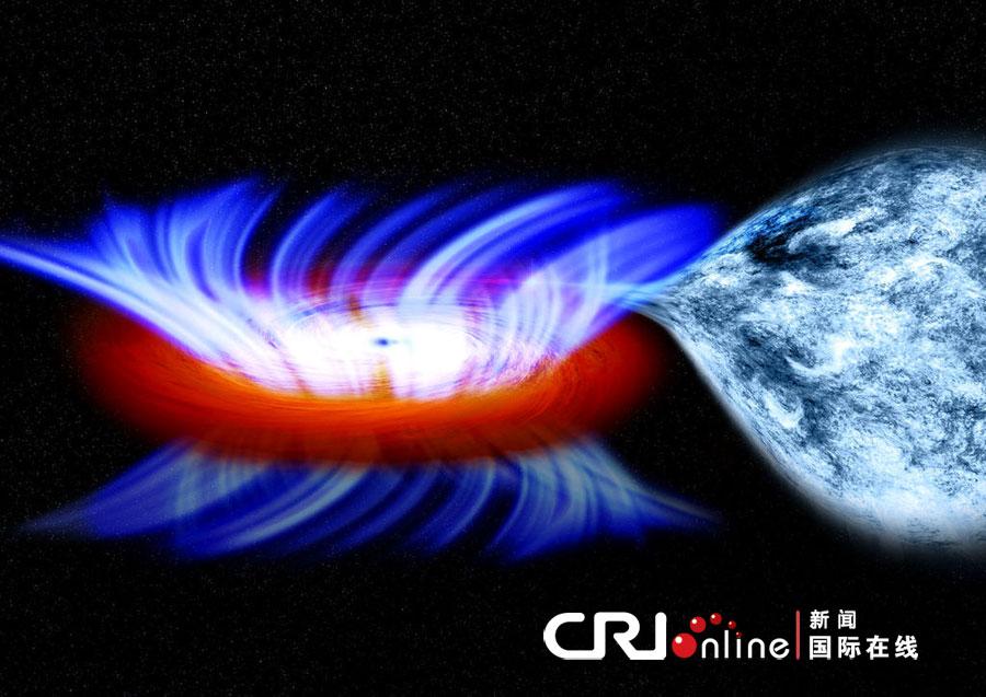 恒星质量黑洞发现最快宇宙风(高清图)_陨星中