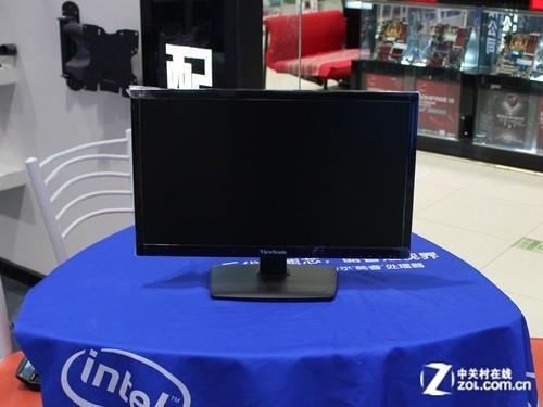 优派va2210-led液晶显示器的外观
