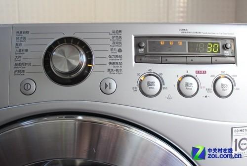 探秘dd变频电机 lg 8kg滚筒洗衣机首测