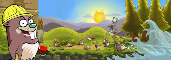 【eager beaver】可爱海狸解谜游戏图片