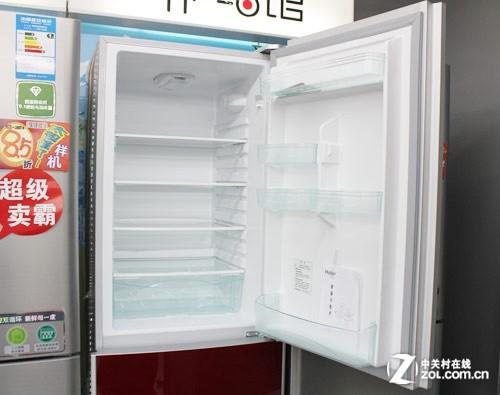 海尔BCD-215KJZF冰箱冷藏室空间特写