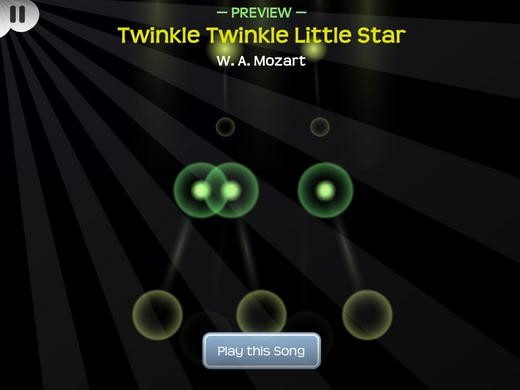 曲目是《小星星》