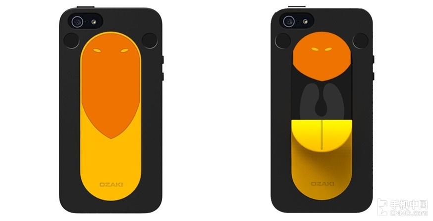 可爱动物iphone 5 保护套想让大家找到幸福