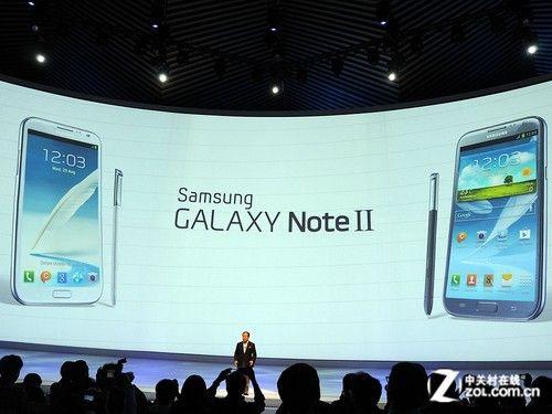 三星GALAXY Note2在2012 IFA发布