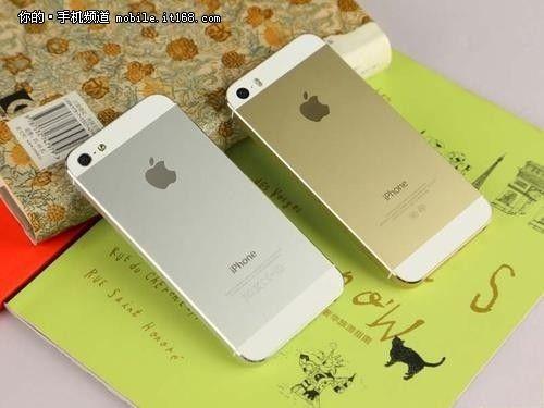 邯郸土豪金 苹果 iphone5s港白售5200元