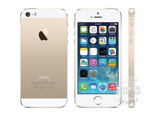 图为:苹果 iPhone 5S(金色版)