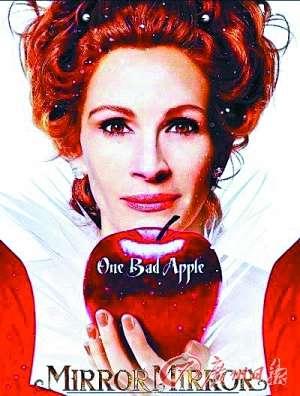 魔镜魔镜 暑期上映 朱莉亚演恶皇后成白雪公主情敌