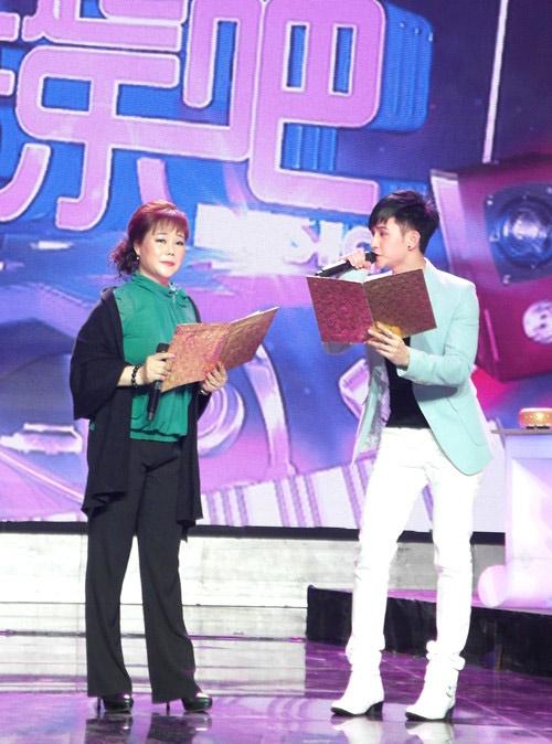 刘洲成/刘洲成和妈妈粤剧表演