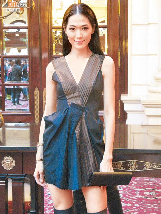 """滚动新闻 > 正文  林莉 据香港媒体报道,""""台湾第一美女主播""""侯佩岑图片"""