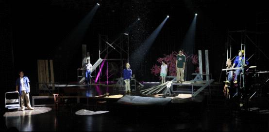 方方小说 桃花灿烂 将在17排剧院上演