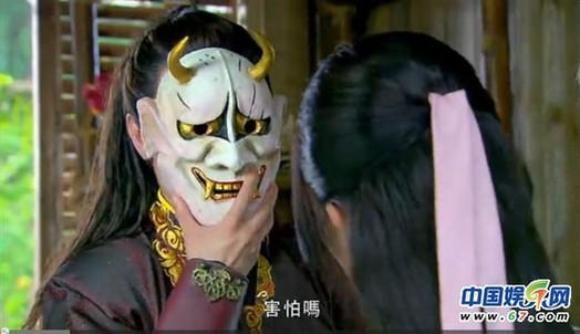 兰陵王面罩图片