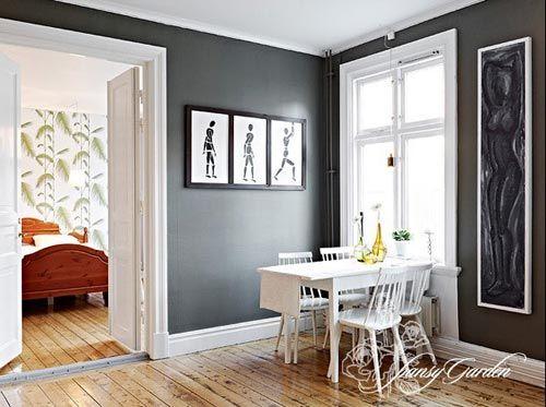 彰显稳重家居设计(图); 两室一厅装修图片; 78平方,稳重的家居设计
