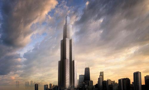 """长沙最高楼效果图_长沙""""世界最高楼""""未批先建 施工方被指无建筑资质_山东频道 ..."""