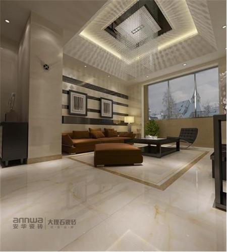 安华大理石瓷砖客厅效果图
