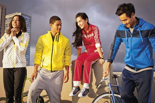 adidas創意廣告海報
