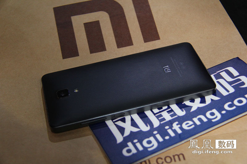 Xiaomi Mi4 Smartphone Real Machine Pictures View Black