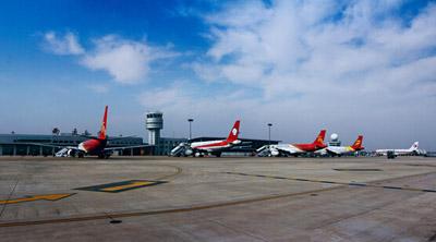 南通机场8月旅客吞吐量增幅江苏省第一