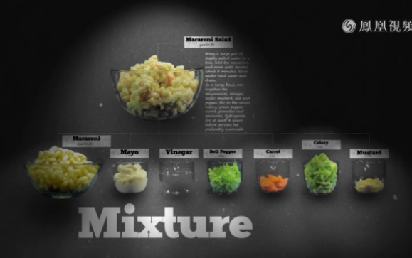 通心粉沙拉的科学:什么是混合?