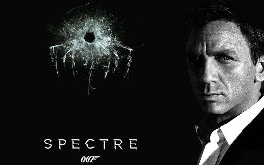 007 系列電影spectre《幽靈黨》海報