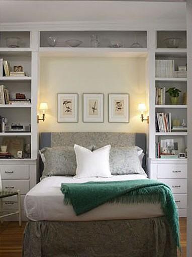 床头书柜效果图片大全