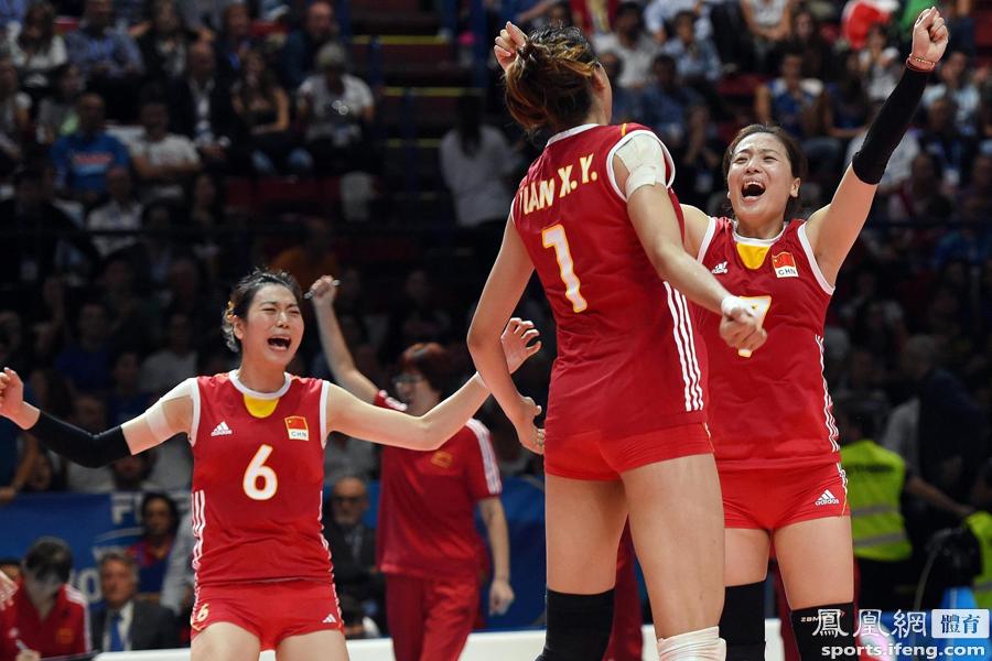 2014中国女排_世锦赛-中国女排3-1意大利 16年后再进决赛_体育频道_凤凰网