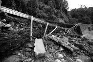 108国道洋县境交通中断