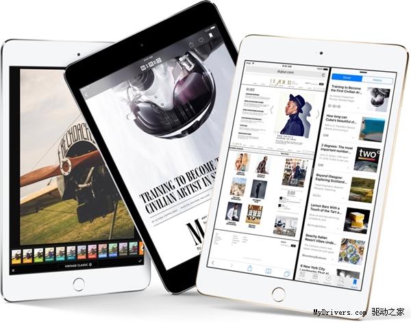 ipad mini第几代了_iPad mini 4屏幕全面进化:低调的黑科技 iPad mini_凤凰数码