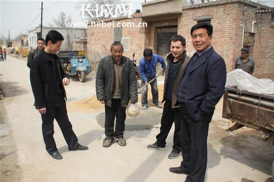 衡水市许家庄村农民致信长城网表扬驻村工作组