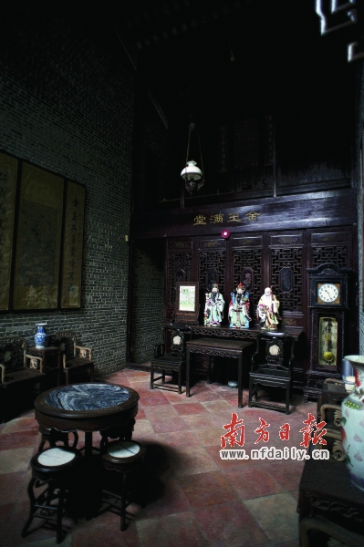 老房子歷經歲月的洗禮