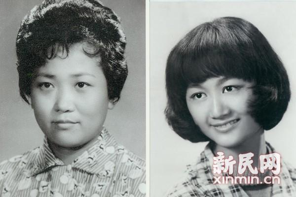 圖說:上世紀六十年代流行發型.南京美發供圖圖片