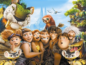美国动画片排行榜_而另一部美国的动画片《疯狂原始人》则历经了8年的漫长制作过程.