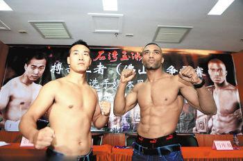 马库斯_国家散打队长姜春鹏现世界泰拳王马库斯大打出手