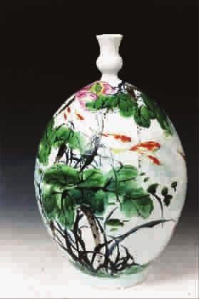陶藝繪畫圖片簡單