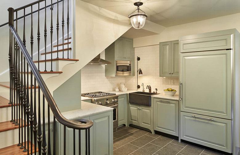 如何巧妙利用樓梯下方空間?-樓梯間裝修效果圖推薦-第